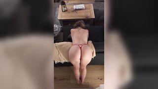 British girls wiggle too - Ass