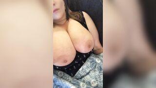 Shaking my huge titties. - Big Boobs Gone Wild