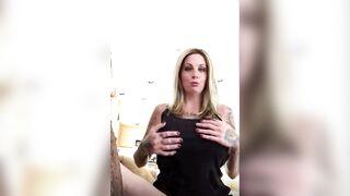 Tatted blonde MILF - Bimbo Fetish