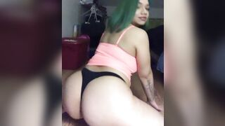 Some ass shaking ?? - Ass in Thong