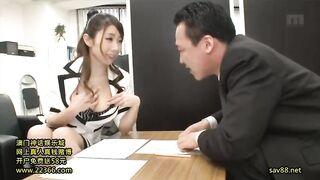Busty office slut Ayumi Shinoda - Ayumi Shinoda