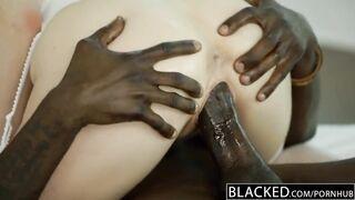 BLACKED Stunning Blonde Karla Kush Takes Massive Black Cock-sound