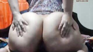 BBW: got fresh large butt