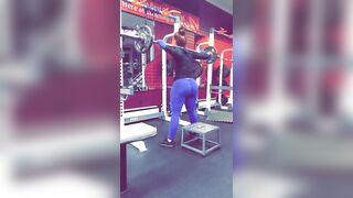 Pawg in the gym ????