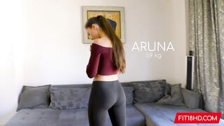 Hot Long Haired Gym Girl On Top - Best Porn