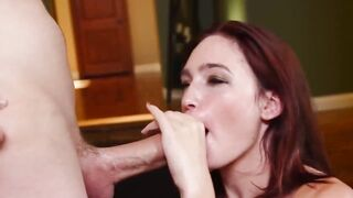 She Doesn't Stop Even After He's Finished - Best Porn